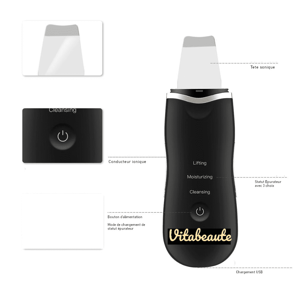 épurateur ultrasonique visage
