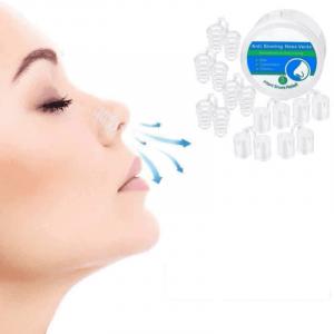 Systeme anti ronflement : pack de 8 pinces nez anti ronflement
