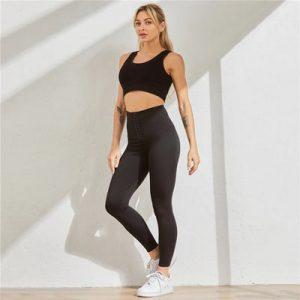 Legging anti-cellulite gainant taille haute