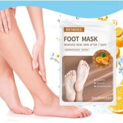 masque pied peeling